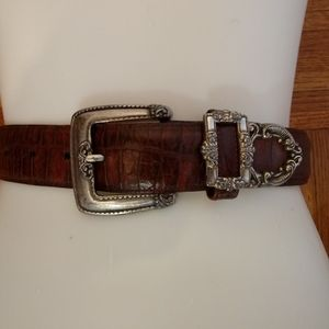 Brighton vintage leather belt